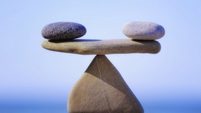 Meditation in real life takes some balancing