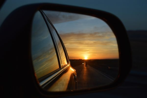 Look for Positive Change in the Rear View Mirror